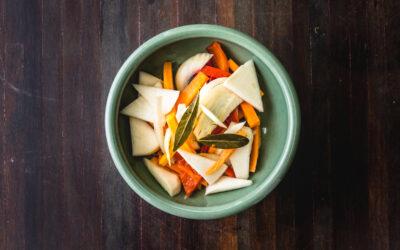 Saddles at Home: Pickled vegetables
