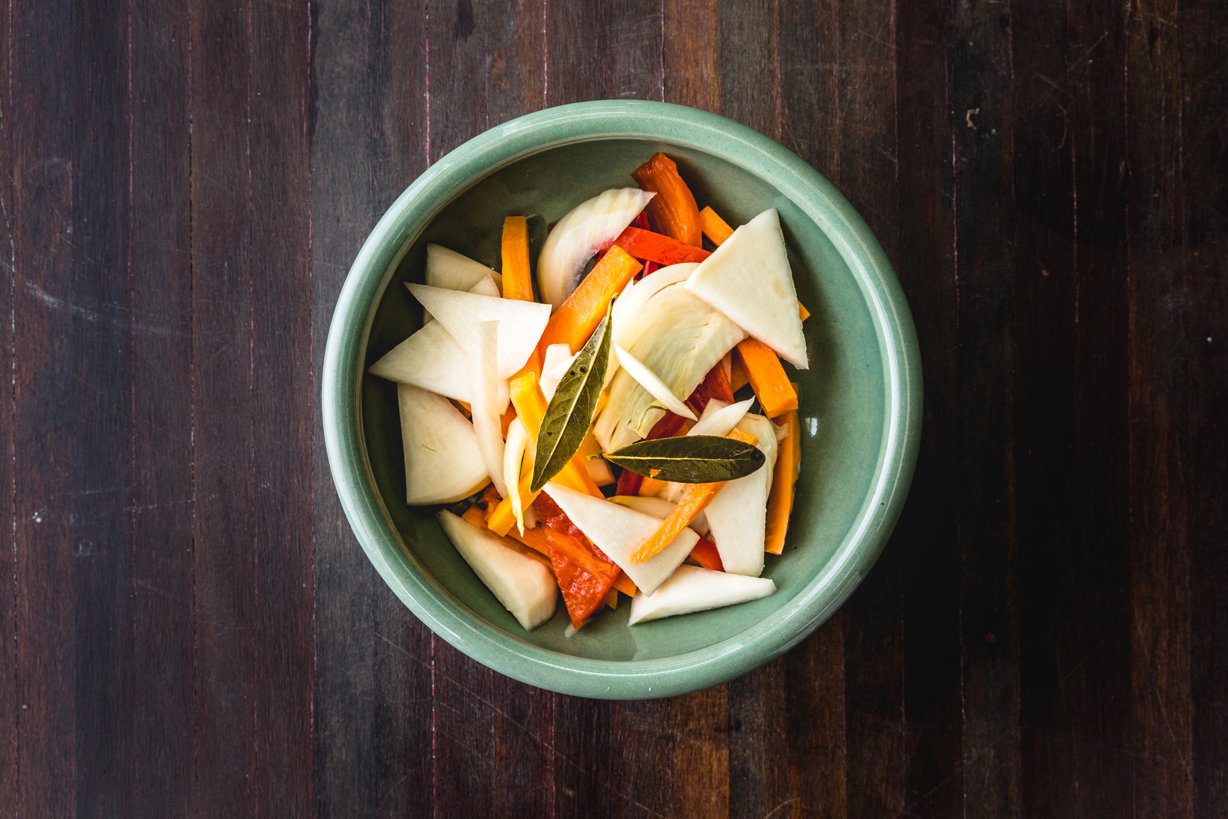 pickled vegetables image
