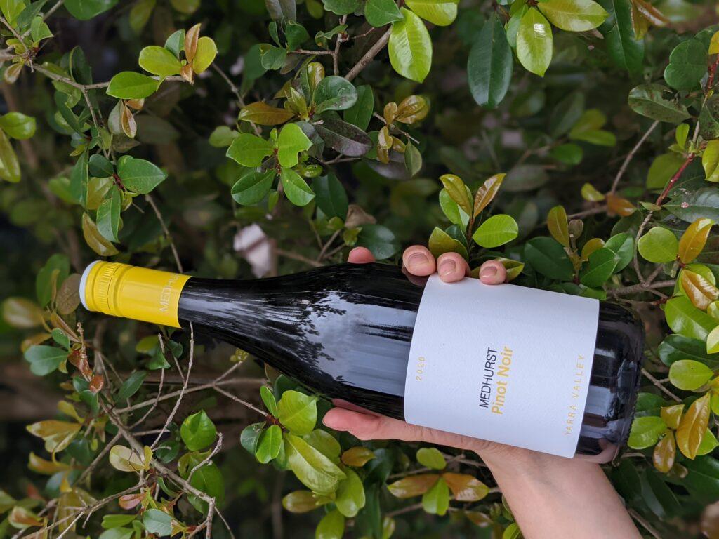 2020 medhurst pinot noir wine image